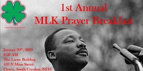 1st Annual MLK Prayer Breakfast tickets