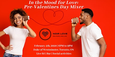 Pre-Valentine's Day - Mixer tickets