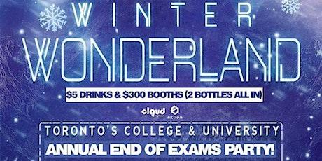 Winter Wonderland | End of Exams Party @ Fiction // Fri Dec 13 | tickets