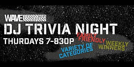 Free Thursday Night Trivia tickets