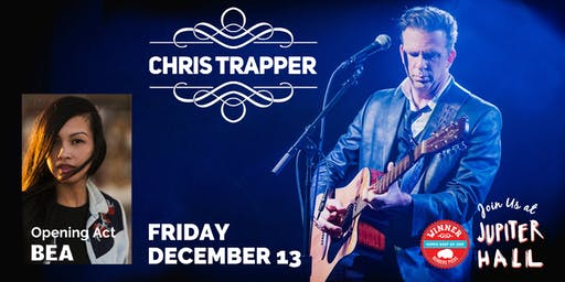 Chris Trapper with BEA in Concert at Jupiter Hall