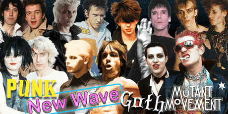 Mutant Movement V: New Wave, Punk & Goth tickets