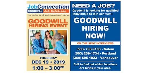 Goodwill is Hiring - Sandy - 12/19/19