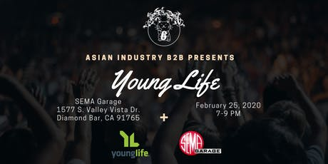 "AIB2B Presents ""Young Life"" Ministry tickets"