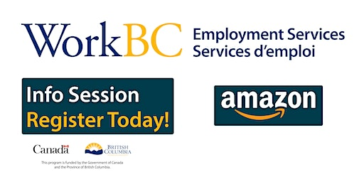 Meet with Amazon about Warehousing job opportunities - WorkBC Cloverdale