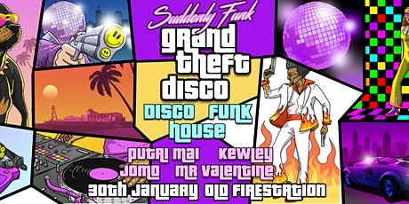 Suddenly Funk: Grand Theft Disco tickets