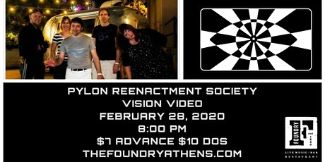 Pylon Reenactment Society and Vision Video tickets
