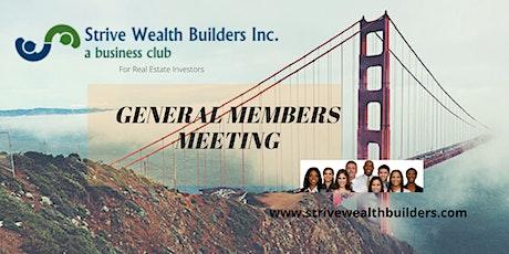 Strive General Members Meeting tickets