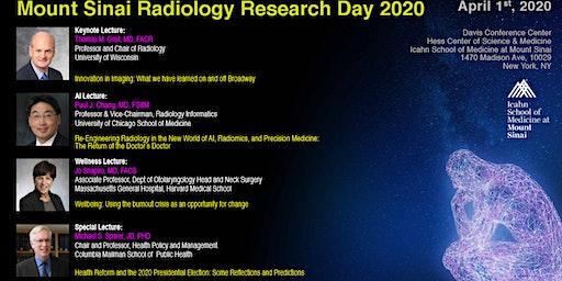 Mount Sinai Radiology Research Day 2020