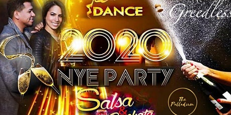 New Years Eve 2020 Salsa & Bachata Celebration Party tickets