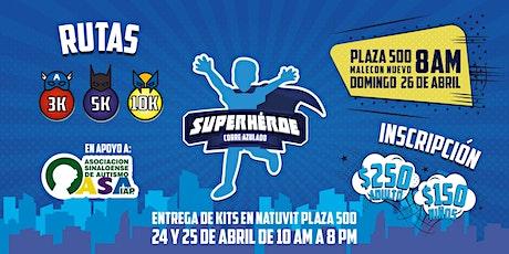 Carrera pedestre Superheroe Azulado 2020 boletos