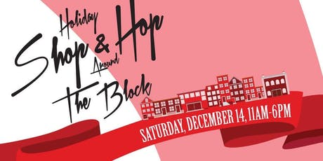 Holiday Shop & Hop The Block tickets