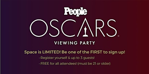 Exclusive Oscars Viewing Party hosted by PEOPLE