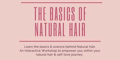 """The Basics of Natural Hair"" Presented By ""Touched By Queen Esther"""