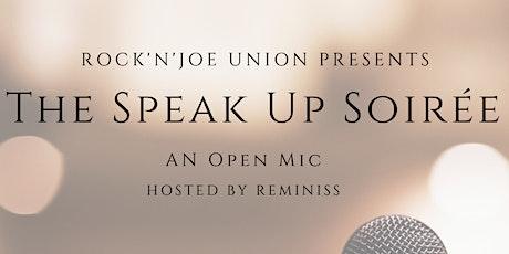 The Speak Up Soirée tickets
