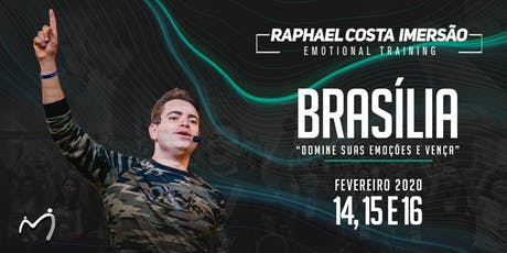 Brasília Imersão Emotional Training Raphael Costa - 31 ingressos