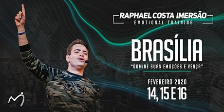 Brasília Imersão Emotional Training Raphael Costa - 31 ingressos