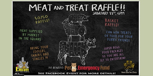 Meats & Treats Raffle 2020 to Benefit the Pet Emergency Fund