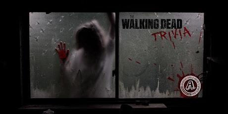 Arooga's Warwick 'The Walking Dead' Trivia Night - Win Great Prizes tickets