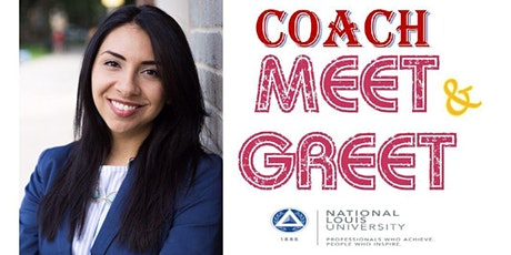 Coach Meet & Greet at National Louis University - Wheeling Campus tickets