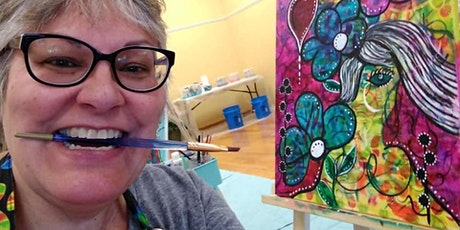 Soulful Graffiti Workshop - Intuitive Painting with Debi tickets