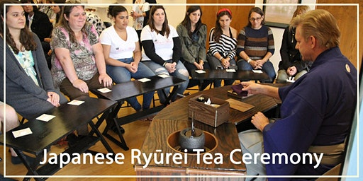 Japanese Ryūrei Tea Ceremony