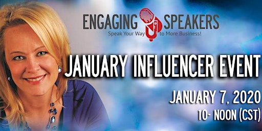 Engaging Speakers January 2020 Influencer Event