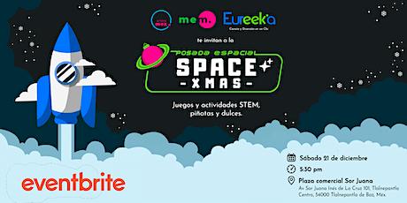 Posada SpaceXMAS ¡Vive una experiencia espacial! boletos