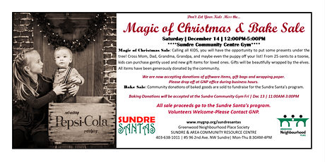 Magic of Christmas & Bake Sale 2019 tickets