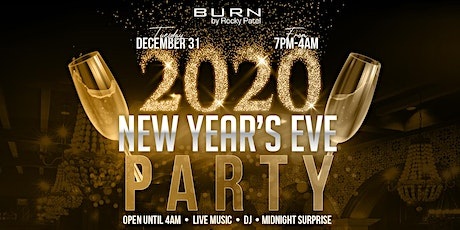 New Year's Eve Party at BURN tickets
