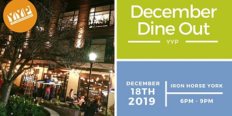 YYP December Dine Out: Iron Horse York tickets