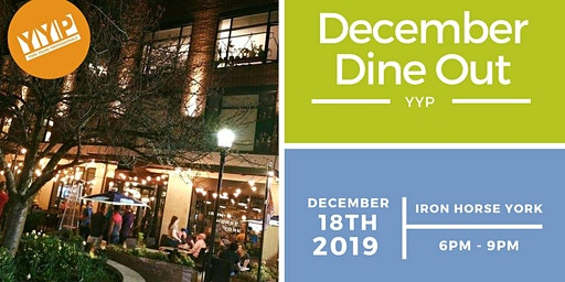 YYP December Dine Out: Iron Horse York
