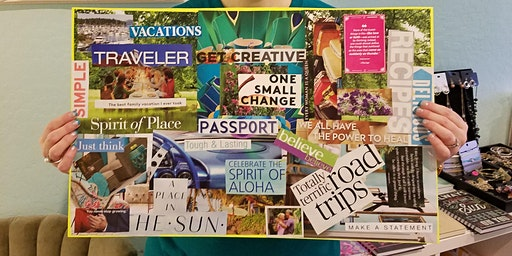 Vision Board Workshop in Gilbert with Tabitha Dumas