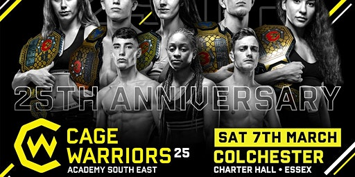 Cage Warriors Academy South East #25 - 7th March 2020