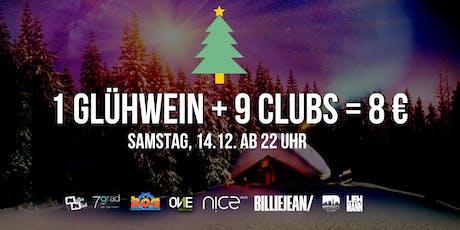 1 Glühwein + 7 Clubs = 8 € / Samstag, 14.12. Stuttgart Tickets