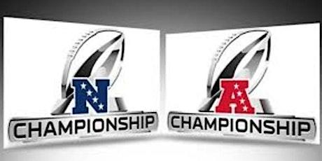 Jr. Grand Warden Gary Olsen's AFC/NFC Championship Tailgate Fundraiser tickets
