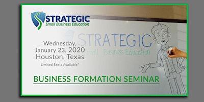 Strategic-SBE: Business Formation Seminar