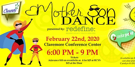 2020 RCYS Mother Son Superhero Dance tickets