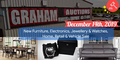 New Furniture, Electronics, Home, Retail & Vehicle Sale tickets