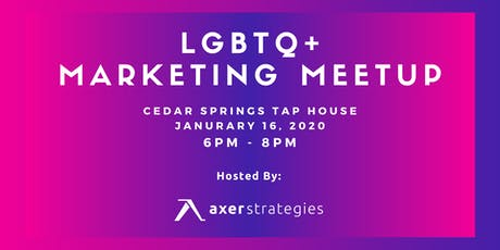 LGBTQ+ Marketing Meetup tickets