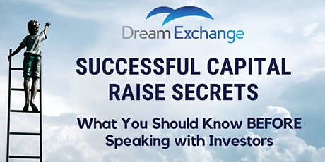 Successful Capital Raise: What You Should Know Before Speaking to Investors tickets