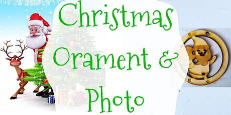 Christmas ornaments and pictures tickets