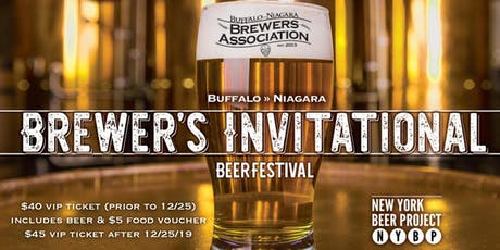 2020 Winter Brewer's Invitational: a VIP Beer Festival tickets