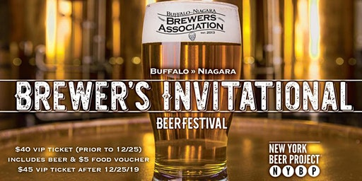 2020 Brewer's Invitational: a VIP Beer Festival