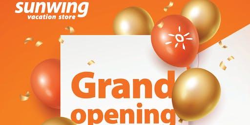 Grand Opening Sunwing Vacations Store Brampton