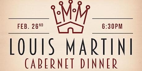 Louis Martini Cabernet Pairing Dinner at Cobalt! tickets
