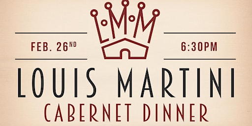 Louis Martini Cabernet Pairing Dinner at Cobalt!