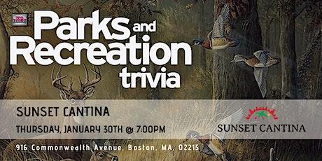 Parks & Rec Trivia at Sunset Cantina tickets