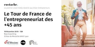 Eustache, le média/club des entrepreneurs 45+ fait étape à Lyon