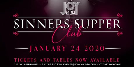 Sinners Supper Club tickets